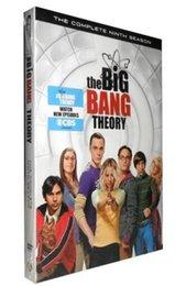 Wholesale New Arrival MIQ The Big Bang Theory Season DVD box set us version moive DHL