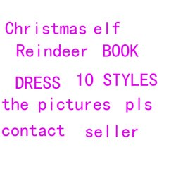 Wholesale Christmes Toy dolls dress shoes Reindeer Clothes Elves Xmas dolls Creativity Book For Kids Holiday And Christmas Gift