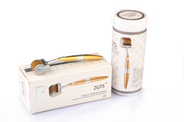 Wholesale 100pcs ZGTS Derma Roller Lowest Factory price Metallic Microneedle Dermaroller Mesoroller Therapy
