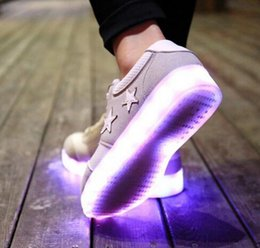 Led Shoes Glowing 7 Colors Men Women Fashion Luminous Led Light UP Shoes for Adults Basket LED Shoes,SIZE35-43