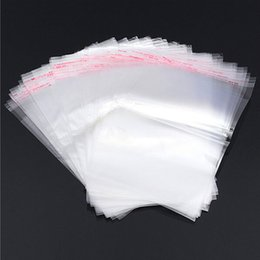 200x clear Self Adhesive Seal Plastic Bag 28x34cm opp bag  poly bag Fahions accessories package bags