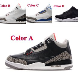 Wholesale Air Retro s III Basketball Shoes Men Sneakers best quality Sports running shoe for women Trainers Athletics boots men outdoor