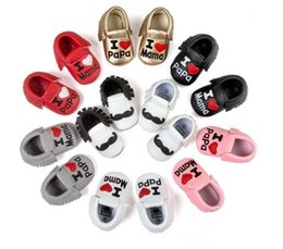 Wholesale mix Harper seven quality baby shoes infants moccasins Bow tassels soft leather booties toddler first walker shoes antiskid