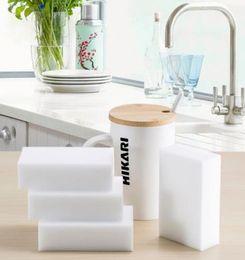 Wholesale 100 White Magic Sponge Eraser Melamine Cleaner multi functional Cleaning x60x20mm Retial