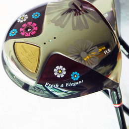 Wholesale New womens Golf Driver man FL Golf Clubs loft Drivers Graphite Golf shaft and Driver headcover