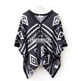 Wholesale 2016 Fashion Children Girls Abstract knit jacket Kids Girl Irregular Long Cardigan Coat Princess Kids Girl Clothing Outwear