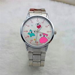 Wholesale 2016 Top Luxury Brand teddy bear Watches Bracelet Oso Oro Gold Stainless Steel Wrist Watch For Women Relojes Mujer Marca De Lujo