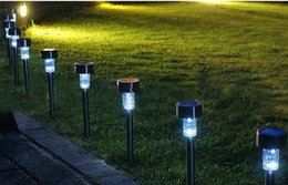LED Solar Lawn Light Plastic Garden Outdoor Sun Light Corridor Lamp Outdoor Garden Party Lamp Solar Powered Colored Solar Lamps