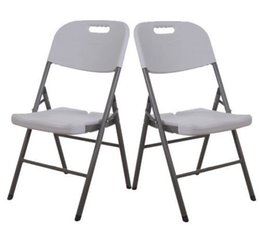 Wholesale New pack Folding Chair Set Portable Molded Plastic Banquet Seat Chairs