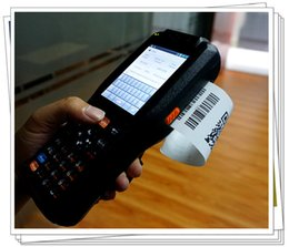 Wholesale Android PDA handheld data capture device with NFC G WIFI PSAM bluetooth card reader scanner