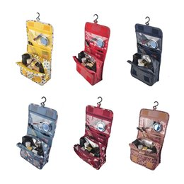 Travel Cosmetic Makeup Toiletry Purse Pouch Organiser Hanging Women Bag Wash Make Up Bag With Hook 2804002