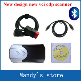 Wholesale 2016 New design R1 software dvd function as mvd TCS CDP pro with Bluetooth new vci cdp COM CARs TRUCKs scan tools