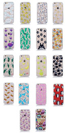 2016 New Small Eye TPU Acrylic Hard Emboss Shell Case for Apple iphone5 iphone6 4.7 5.5 plus