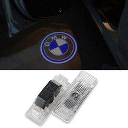 Wholesale Car LED Logo Door Light Luz de Puerta de Coche Oven Ajovalojen Ghost Shadow Courtesy Light FOR BMW E39 E53