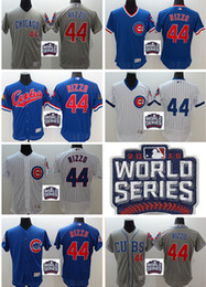 Wholesale 2016 World Series patch Chicago Cubs Anthony Rizzo Jersey White Blue Alternate Gray Road Premier Stitched Anthony Rizzo Cubs Baseball