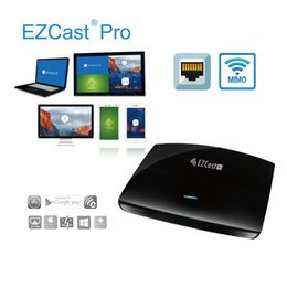 EZCast PRO Wireless Presentation LAN, 4 to 1 Split Screen Projection, High Speed 802.11n MIMO 2T2R WiFi,Support LAN port and Dual HDMI VGA