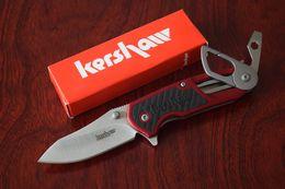 Wholesale Kershaw RD Multifunction Tool folding knife Survival Pocket knife Cr13MoV Blade EDC tool Drop shipping