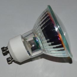 Wholesale Epistar SMD 3W AC230v GU10 Spotlights Lamps 3w AC220V LED Bulb Ceramic Glass Warm White 3000K Ra80 Free Shipping
