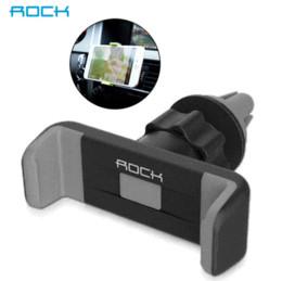 Promotion vent mount gps Support voiture Téléphone Rock luxe Air Vent Mount Support GPS Support 360 support réglable Rotation pour iPhone 5s 6 plus de moins de 6 '' téléphones