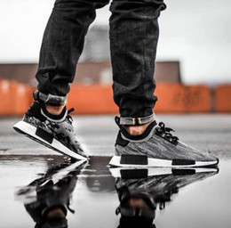 Wholesale 2016 New NMD Runner Primeknit Men S Running Shoes Fashion Running Sneakers for Men and Women Size Grey