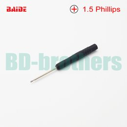 Wholesale 1 mm Mini head Phillips screwdriver Cross head screwdrivers Philips Driver Repair Pry Open Tool for iPhone Cell Phone S4