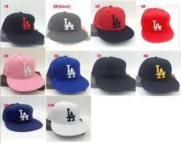 Los sombreros de los hombres en Línea-2016 Hip Hop Dodgers MLB Snapback de las gorras de béisbol MLB LA Sombreros unisex Deportes Nueva York Mujeres Hombres casquette headware ocasional