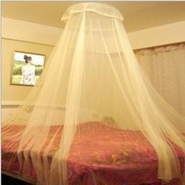 Wholesale Mosquito net Enclosed lace mosquito nets domed ceiling classical sleeping princess bed mantle accounts department store g