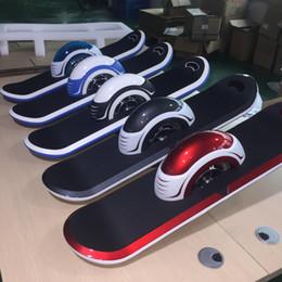 Luces individuales con pilas en Línea-Nueva batería de 10 pulgadas Samsung una rueda eléctrica skateboard hoverboard UE vacío sola rueda eléctrica scooters LED Light Bluetooth