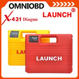 Wholesale 2016 Newest Software Multi language Launch X431 Diagun Full Set Lifelong free update Free warranty