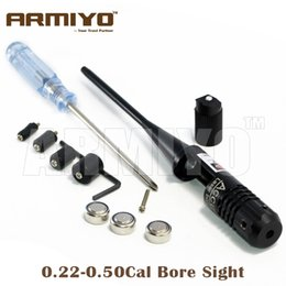 Wholesale Armiyo Accurate Tactical Rifle Scope Red Dot Gun Bore Sight Collimator Laser Cal Hunting