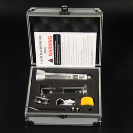 Wholesale new coming wax dab pen electric dab n a il wax vaporizer electronic cigarette e n a il kit best portable wax vaporizer pen en ail