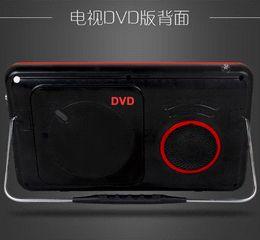 2014 Limited Tv Portatil free Shipping Sast 10.2 Inch Portable Dvd Vcd Cd Mp3 Mp4 Player + Tv +av Input Electronic Album Game