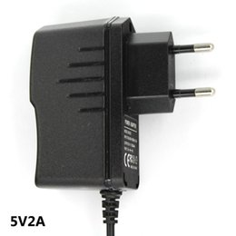 Wholesale New Arrival AC V V Converter Switching Power Adapter DC V A mA Supply EU Plug DC mm x mm