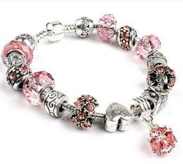 Wholesale 2016 new crystal bracelet months of the birth of S Alex and Arni charm bracelet bracelet extension Charm Bracelet metal beads Bracelet
