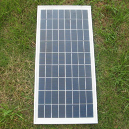 Wholesale 18W V Polycrystalline silicon Solar Panel used for V photovoltaic power home system Watt WP VDC PV Poly solar Module