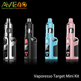 Wholesale Vaporesso Target Mini Starter Kit ml with mAh Battery Built In w Target Mini Mod Pink