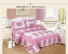 Wholesale Jessy Home Sun flower Collections Etc Country Star Floral Patchwork Quilt King Multi Embroidered Kentucky Star Bedroom Quilt