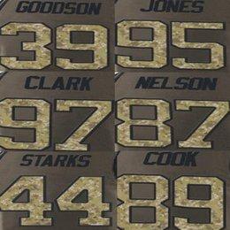Wholesale Datone Jones Jersey Demetri Goodsonl James Jones James Starks Jordy Nelson Kenny Clark Football Jerseys Olive Salute To Service