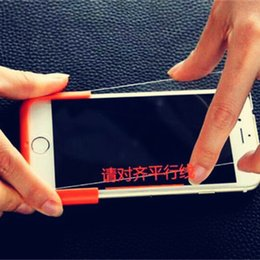 Wholesale New arrival Automatic Screen Protector Attach Accessibility Machine For iphone5s s s plus Mobile Screen Film Machine mm03252016