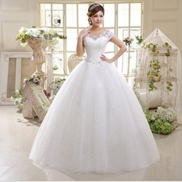 2016 newest Short Sleeves Plus Size Wedding Dresses Scoop Neckline Lace Appliques Bridal Gown for Pregnant Maternity Wedding Dress