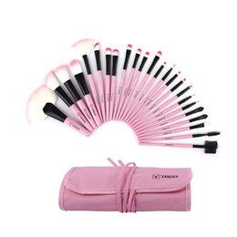 Wholesale Wholesales most affordable set sets Vander Pink Makeup Brush Soft Cosmetic Set Blush Eyeshadow Makeup Brushes For Beauty