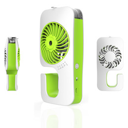 Acheter en ligne Eaux froides-Hot vente Mini USB Cooler Mist Water Fan Table électrique Portable USBfan 4 couleurs cooler mist water fan