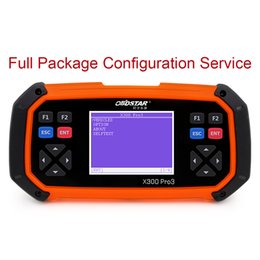 Wholesale Newest Service to Get OBDSTAR X300 PRO3 Key Master Full Package Configuration