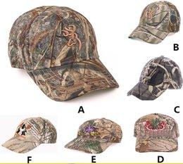 Descuento sombreros de camuflaje Los hombres adultos apresurados camionero gorras de béisbol de la venta caliente Bionic camuflaje caza de la pesca gorra de béisbol del algodón puro de la bola del baloncesto Snapbacks del sombrero