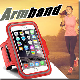 Wholesale WaterProof Sport Gym Running Armband Pouch Case Cover For Apple iphone s Plus S Samsung Galaxy S5 S6 edge Note