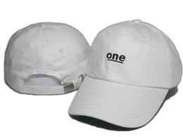 Cheap Wholesale One embroidery Adjustable Hats Strapback Hats Baseball Caps Embroidery Curved Brim One Caps Village Truck Driver Hats