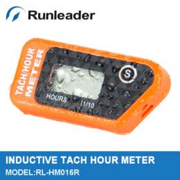 Promotion quad lcd Etanche LCD Réinitialisable Compteur horaire RPM compteur tachymètre pour Quad Bike Pit Bike Motoneige VTT moto paramoteur Jet Ski