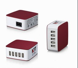 Wholesale UL approved V A power supply with Multi ports USB for smart phone