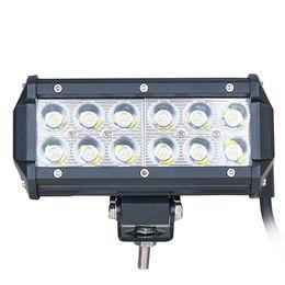 Wholesale 36W Flood LED Work Light Off Road LED Light Bar Super Bright for Jeep Cabin Boat SUV Truck Car ATVs