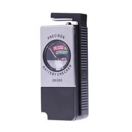 Wholesale Universal Analog Battery Volt Tester Checker AA AAA C D V PP3 Button probador de baterias batterij tester E5M1 order lt no tr